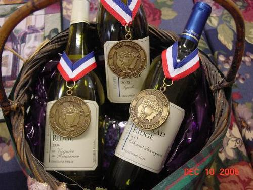 American Wine Society Competition, Las Vegas 2005